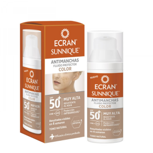 Ecran Sunnique Antimanchas Color Spf50 50ml