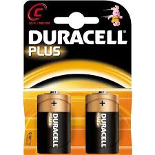 BATTERIE DURACELL PLUS MEZZE TORCE AA