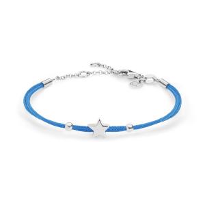 Bracciale Stella Argento Azzurro Comete