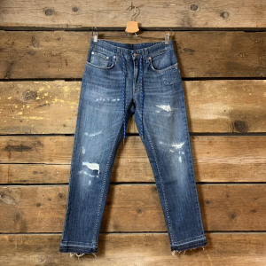 Jeans Department 5 Corkey con Coulisse e Rotture Blu Scuro