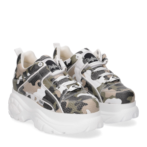 Buffalo London Sneaker 1339 CaMouflage