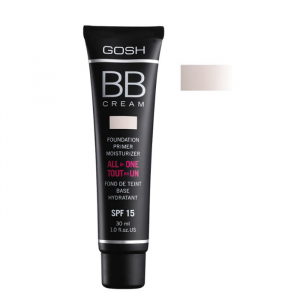 Gosh BB Cream Foundation Primer Moisturizer 01 Sand 30ml