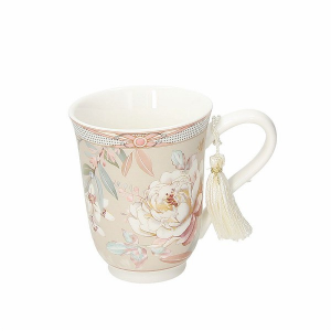 Tognana - MUG - NEW  MILK & COFFE' - PEONIA