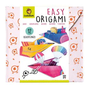 LUDATTICA EASY ORIGAMI - AIRCRAFT 81905