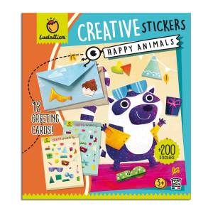 LUDATTICA CRATIVE STICKERS - HAPPY ANIMALS 81929