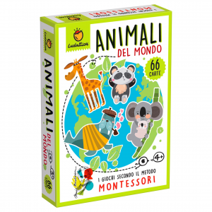 LUDATTICA CARTE MONTESSORI - GLI ANIMALI 81998