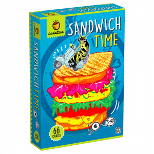 LUDATTICA SANDWICH TIME CARDS 82049