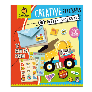 LUDATTICA CRATIVE STICKERS - HAPPY WORKERS 82070