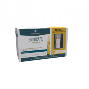 Endocare Radiance C Proteoglicanos Oil Free 30 Fiale + Gel D'acqua 360 15 ml