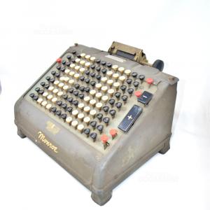 Calcolatrice Elettrica Bintage Monroe