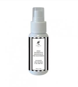 Spray detergente ed igienizzante per mascherine e tessuti da 50ml