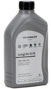 OLIO VW AUDI LONGLIFE III FE 0W/30 LT 1, GS55545M2