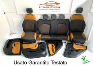 Tappezzeria Sedile Pannelli Completa Fiat Panda Trekking Anno 2018 Originale
