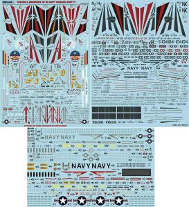 USN F-14 Tomcats Colors & Markings