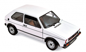 Volkswagen Golf GTI 1976 White 1/18