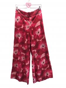 Pantalone ampio fiorato