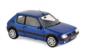 Peugeot 205 GTI 1.9 1992 Miami Blue 1/18