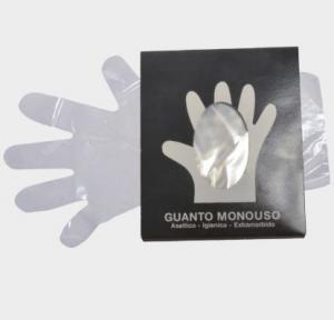 Guanto Monouso Asettico 100pz