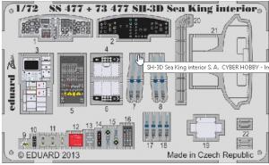 SH-3D Sea King interior