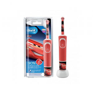 Oral-B Kids Vitality Cars Blister Electric Toothbrush