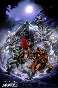 Realm of the Underworld: Minicomic - THE ICELANDS OF ARKTOS (Zoloworld)