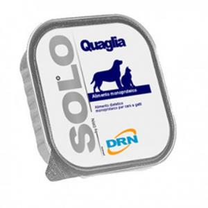 DRN Solo Quaglia per cani 100gr