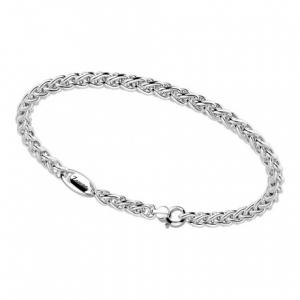 Bracciale Zancan, in argento a coda di volpe