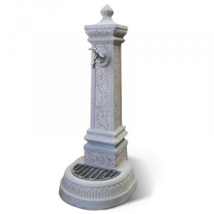 Fontana in Cemento Mediolanum con rubinetto e piletta K.A.M