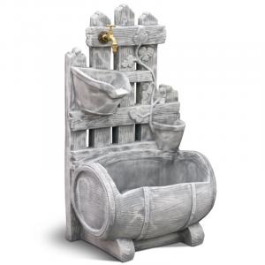 Fontana in Cemento Vignola con rubinetto e piletta K.A.M