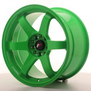 Cerchi in lega  JAPAN RACING  JR3  18''  Width 9,5   5x114,3/120  ET 22  CB 74,1    Green