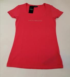 T-shirt donna rosa m/c Emporio Armani