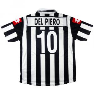 2001-02 Juventus Maglia Home  #10 Del Piero XL (Top)