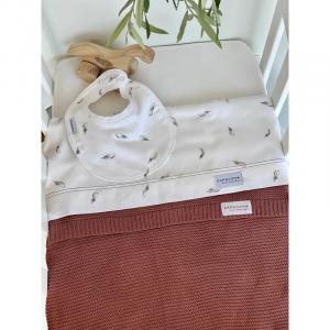 Set lenzuola per lettino Bedsheet Baby Plume