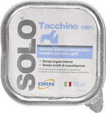 DRN Solo Tacchino per cani 300gr