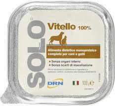 DRN Solo Vitello per cani 100gr