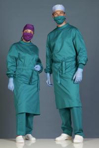 Montreaux Verde Chirurgico Cotone Siliconato Medium Risk conf. 5 pz