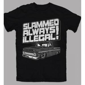 T-Shirt SLAMMED for man - Nera e Bianca