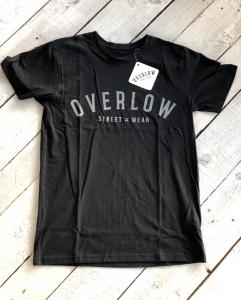 T-Shirt OVERLOW for man - Nera e Grigia
