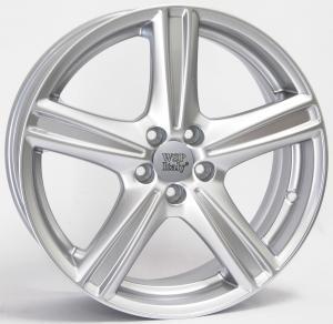Cerchi in lega WSP Italy  RENO12VL54  19''  Width 8.0   5x108  ET 49  CB 65,1    Super Silver