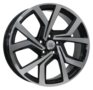 Cerchi in lega WSP Italy  W469        18''  Width 7.5   5x112  ET 51  CB 57,1    Glossy Black Polished