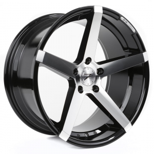 Cerchi in lega  Z-Performance  ZP.06 Deep Concave   20''  Width 8.5   5x120  ET 35  CB 72.6    Phantom Black/Polish