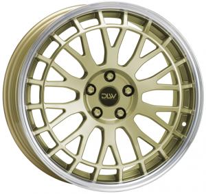 Cerchi in lega  ETABETA  Unit  19''  Width 8,5   5x114  ET 45  CB 78,1    Shiny Gold Lip Polish