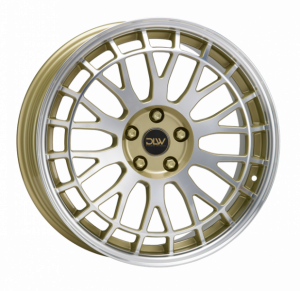 Cerchi in lega  ETABETA  Unit  19''  Width 8,5   5x112  ET 35  CB 78,1    Shiny Gold Lip+Face Polish