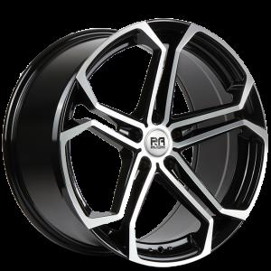 Cerchi in lega  Riviera  ATLAS  20''  Width 8.5   5X120  ET 35  CB 72.6    Black Polished Dtint