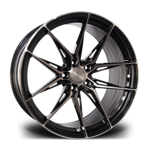 Cerchi in lega  Riviera  RF107  20''  Width 8.5   5x112  ET 35  CB 72.6    Black Polished Dark Tint