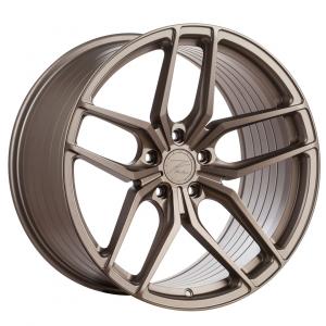 Cerchi in lega  Z-Performance  ZP2.1 Deep Concave   19''  Width 8.5   5x120  ET 35  CB 72.6    FlowForged Matte Carbon Bronze