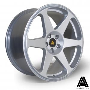Cerchi in lega  Autostar  Chaser  18''  Width 8.5   5x100  ET 35  CB 67,1    Silver
