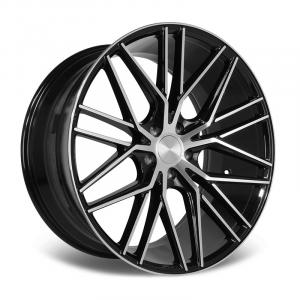 Cerchi in lega  Riviera  RV130  22''  Width 10.5   5X120  ET 40  CB 72.6    Black Polished
