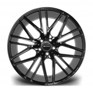 Cerchi in lega  Riviera  RV130  22''  Width 10.5   5X120  ET 40  CB 72.6    Gloss Black