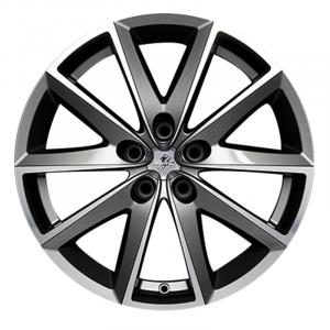Cerchi in lega  Fondmetal  7600  17''  Width 7.50   5x108  ET 45.00  CB 67.2 Ring Seat    Glossy Titanium Machined